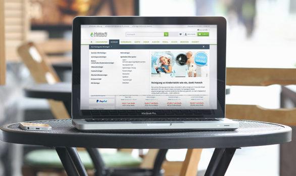 Hatoch® Webshop Programmierung
