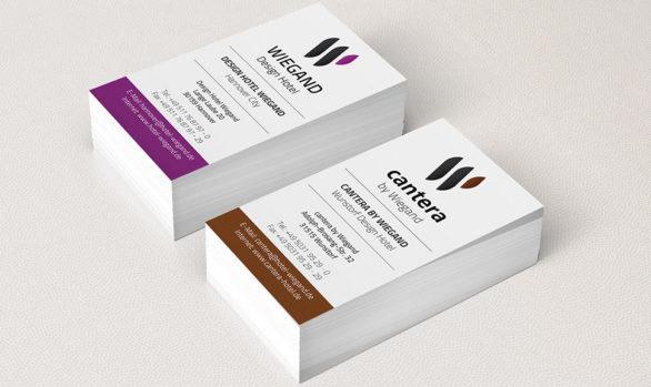 Visitenkarten Design & Druck für Wiegand
