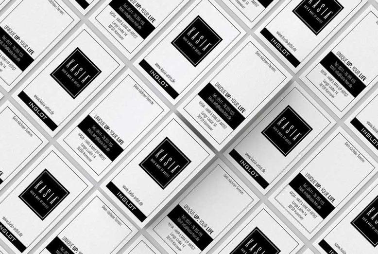 Visitenkarten Design Und Druck Für Kasia Miu24 Werbeagentur